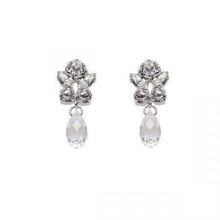 Cercei cristale Swarovski Marielle Small Crystal0
