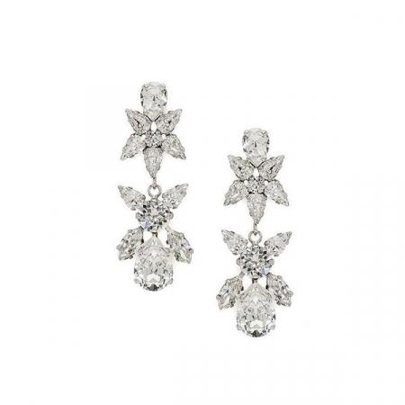 Cercei cristale Swarovski Sparkly L Crystal0