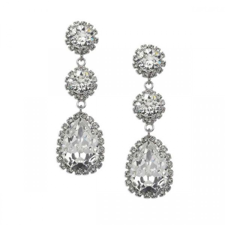 Cercei cristale Swarovski Tear Crystal [0]