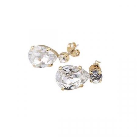 Cercei cristale Swarovski Zora Crystal G0
