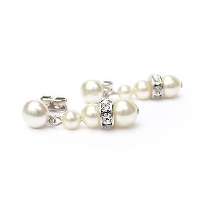 Cercei perle Swarovski 3245 Cream Pearl0