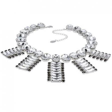 Colier cristale Swarovski 1170 Crystal & Jet0