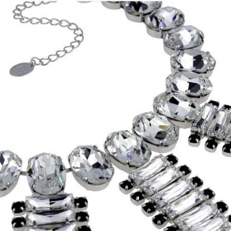 Colier cristale Swarovski 1170 Crystal & Jet2