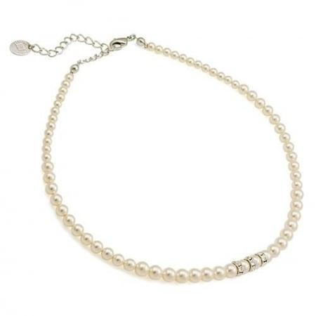 Colier perle Swarovski 1204 Cream Pearl0