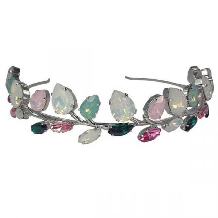 Diadema mireasa cristale Swarovski Rafaela Color0