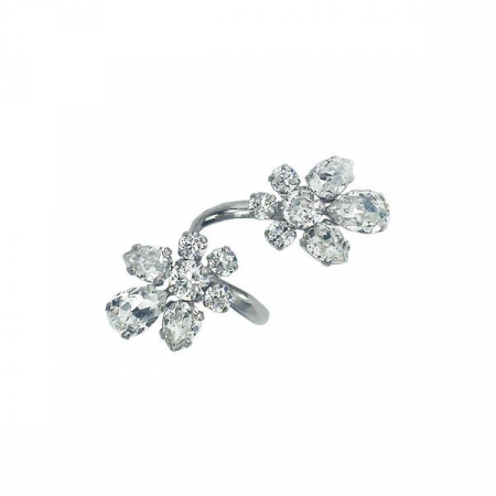 Inel cristale Swarovski 7059 Crystal0