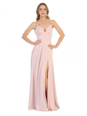 Rochie France Mode M1704 roz lunga de seara clos0