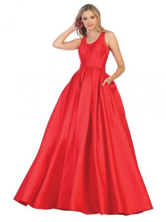 Rochie France Mode M1721 rosie lunga de seara princess [0]