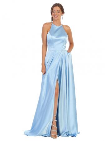 Rochie France Mode M1733 bleu lunga de seara clos [0]
