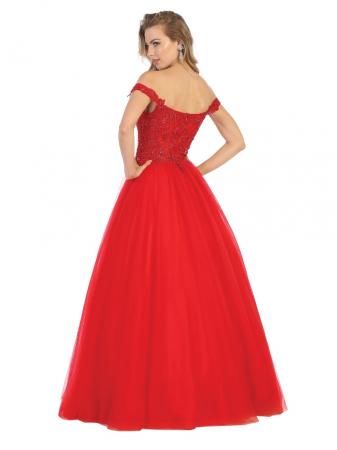 Rochie France Mode M1734 rosie lunga de seara princess1