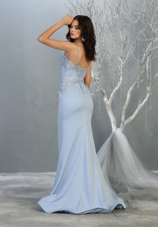 Rochie France Mode M1759 bleu lunga de seara sirena [1]