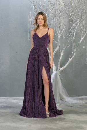 Rochie France Mode M1795 violet lunga de seara clos [0]