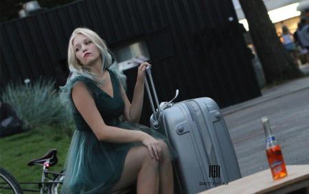 Rochie Betty M Misty verde scurta de cocktail baby doll1