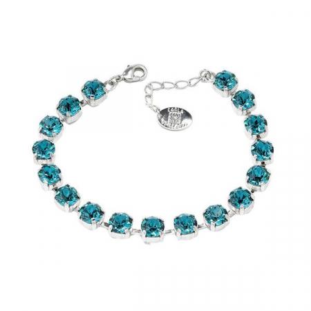 Set cadou cristale Swarovski Blue Zircon1
