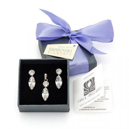 Set cadou cristale Swarovski Caroline Crystal [0]