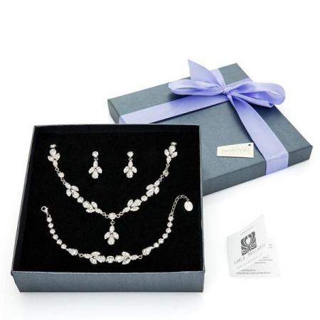 Set cadou cristale Swarovski Christine Crystal0