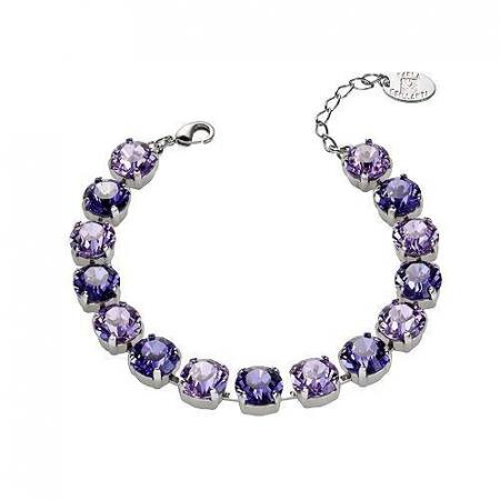 Set cadou cristale Swarovski Jeny Violet &Tanzanite1