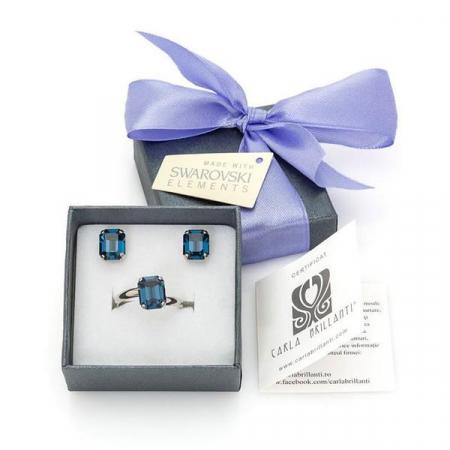 Set cadou cristale Swarovski Marlene Montana0