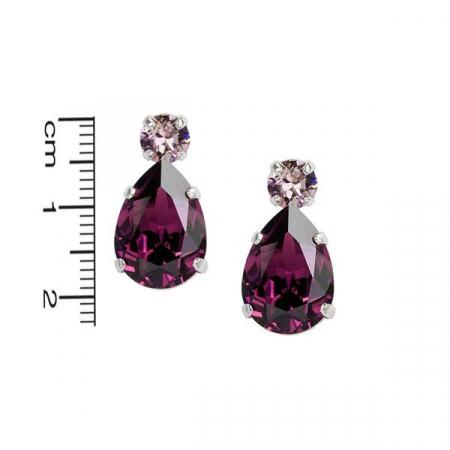 Set cadou cristale Swarovski Petra Amethyst & Light Amethyst1