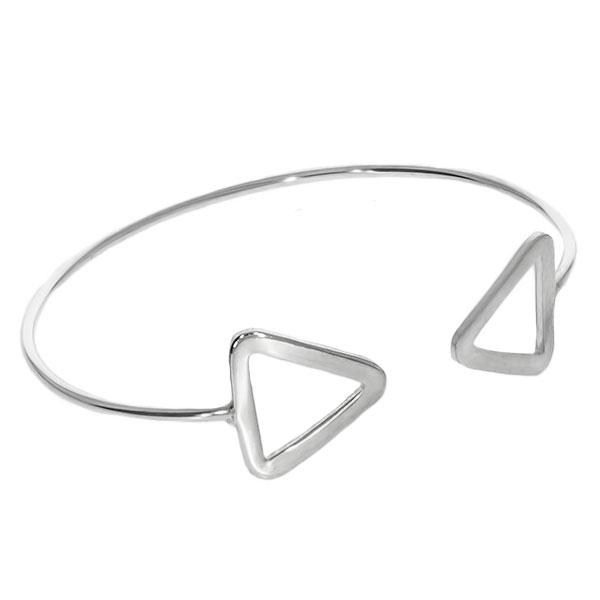 Bratara argint fixa model triunghiuri [3]