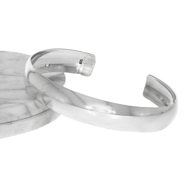 Bratara argint fixa lucioasa [2]