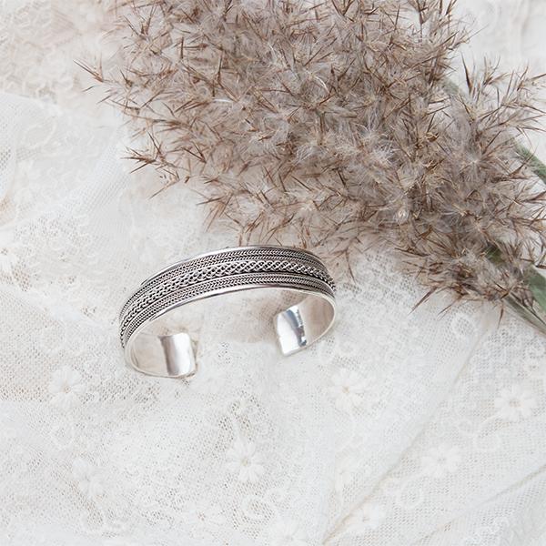 Bratara argint model oriental [5]