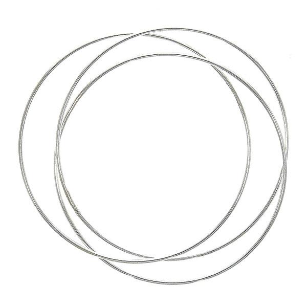 Brățară argint formată din trei verigi intercalate [0]