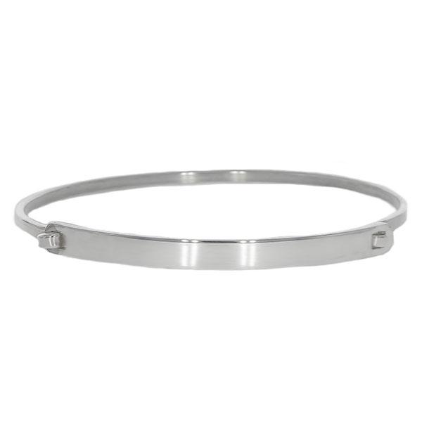 Brățară fixă, model rigid, din argint [0]