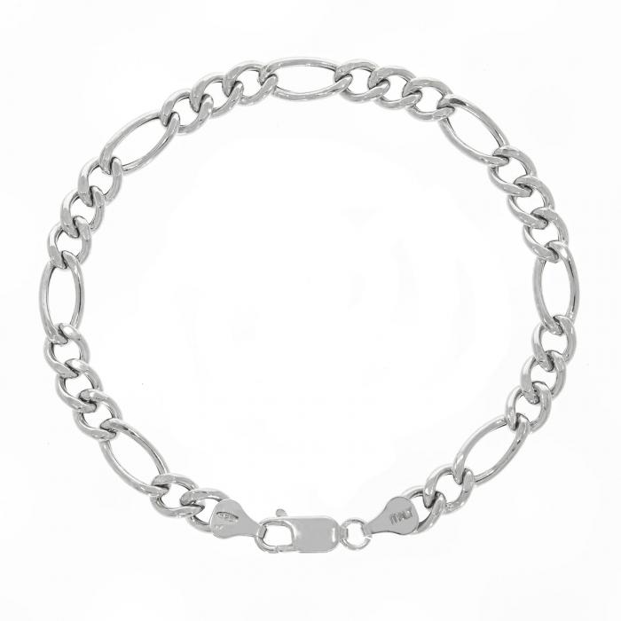 Brățară argint, model clasic, bărbătesc, cu zale [0]