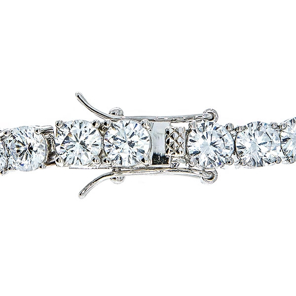 Bratara argint model tenis cu cristale fatetate [2]