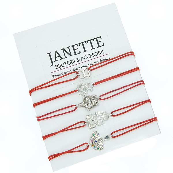 FREE - Brățară argint cu șnur - cadou [0]