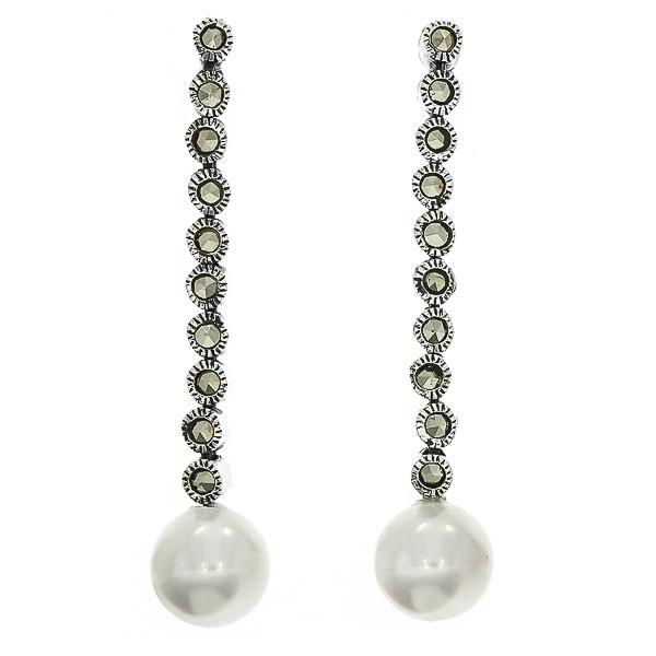 cercei-lungi-eleganti-argint-marcasite-perle-janette [0]