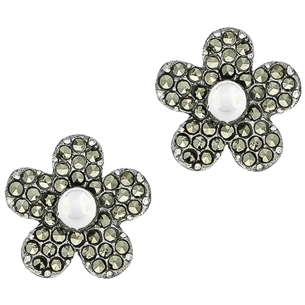cercei-pe-lob-argint-antichizat-model-floral-janette [0]