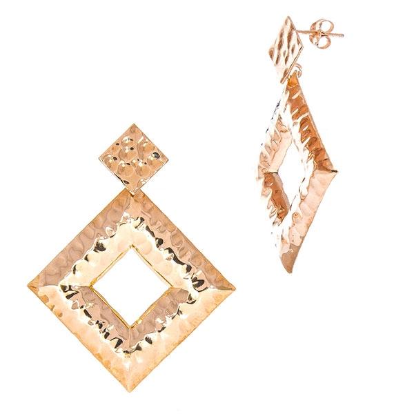 cercei-argint-placat-cu-aur-rose-model-geometric-texturat-janette [1]