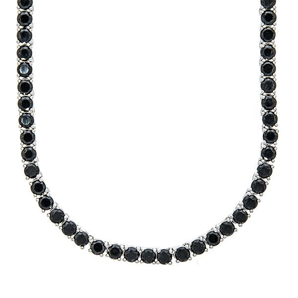 colier-argint-tennis-zirconii-rotunde-negre-janette [0]