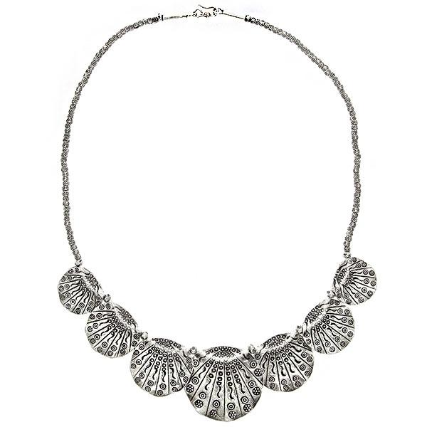 colier-argint-antichizat-motive-florale-janette [2]