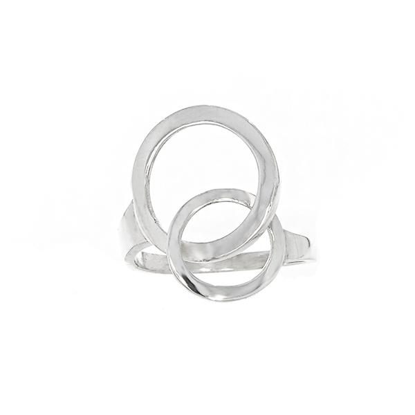 Inel din argint minimalist [1]