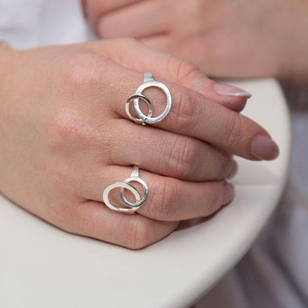 Inel din argint minimalist [0]