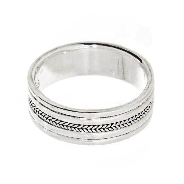 Inel din argint tip verighetă [2]