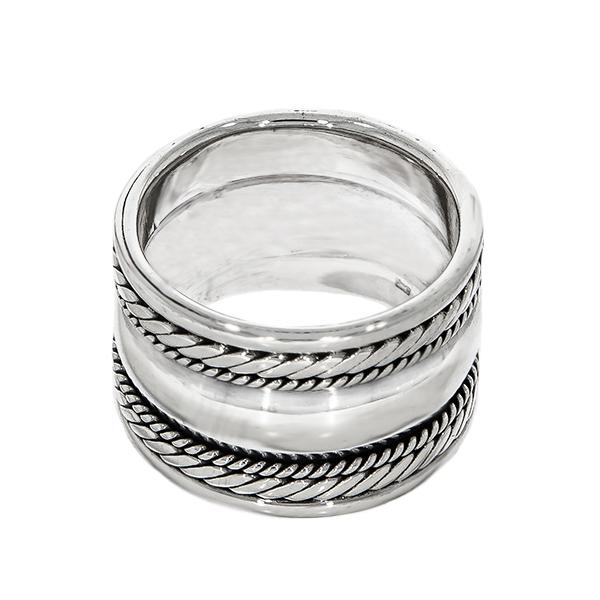 Inel lat din argint 925 [1]