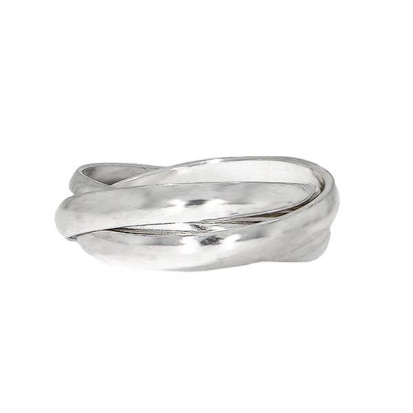 Inel din argint 925 cu verigi intercalate [0]