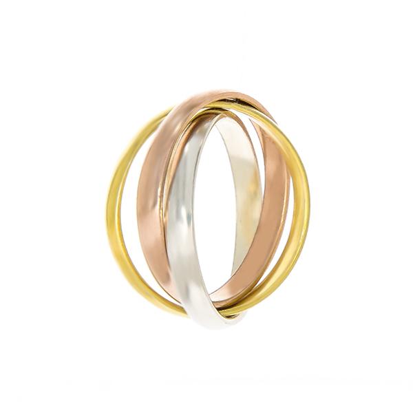 Inel din argint cu verigi multiple [3]