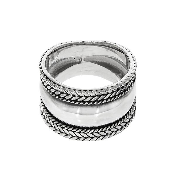 Inel argint 925 cu detalii antichizate [2]