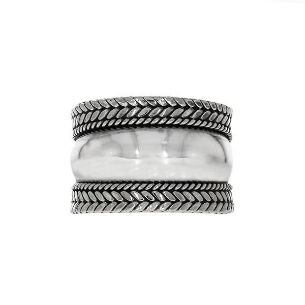 Inel argint 925 cu detalii antichizate [0]