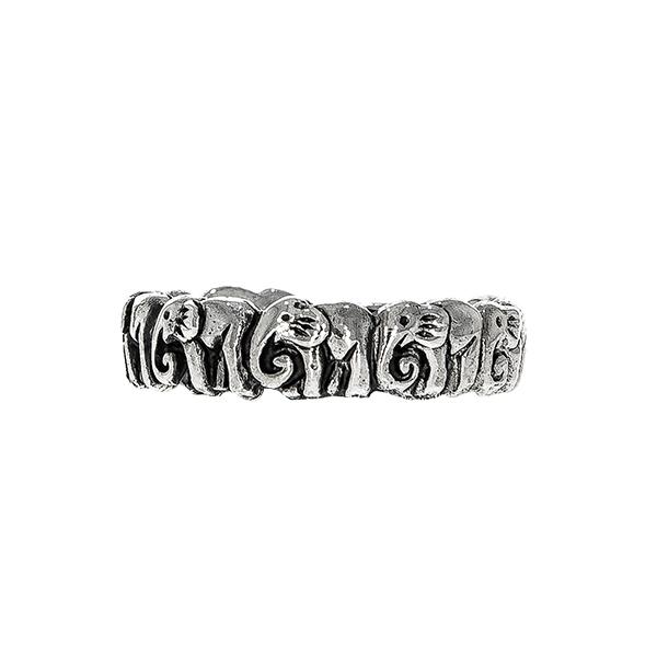 Inel din argint cu elefanți [0]