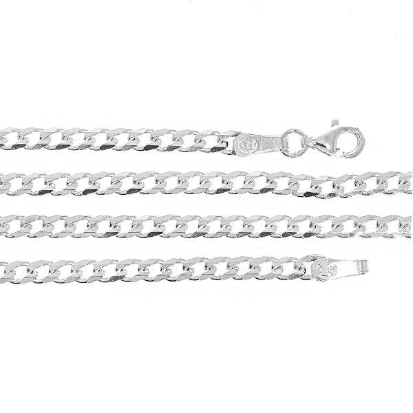 Lanț din argint 925, model cu zale, bărbătesc [0]