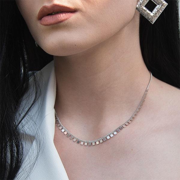 Lantisor argint model placute [1]