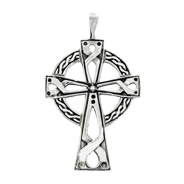 Pandantiv din argint cruce celtică [0]