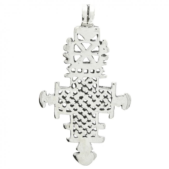 Pandantiv-amuletă lucrat manual în argint masiv. [0]