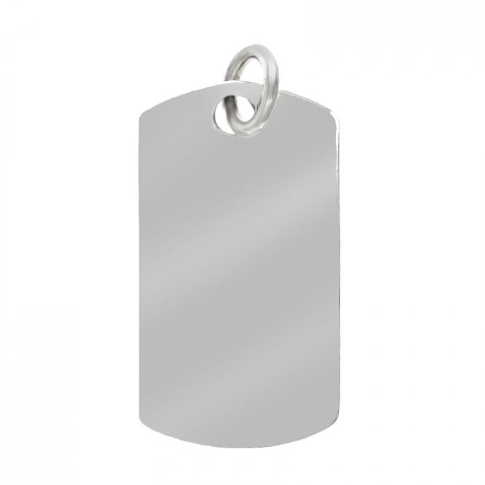 Plăcuță din argint 925 [0]